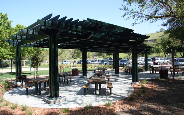 Hap Magee Group Picnic Area Shade Structure, Town of Danville